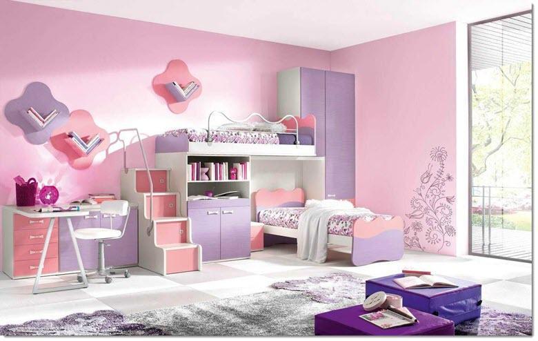 комната девочки 10 лет
