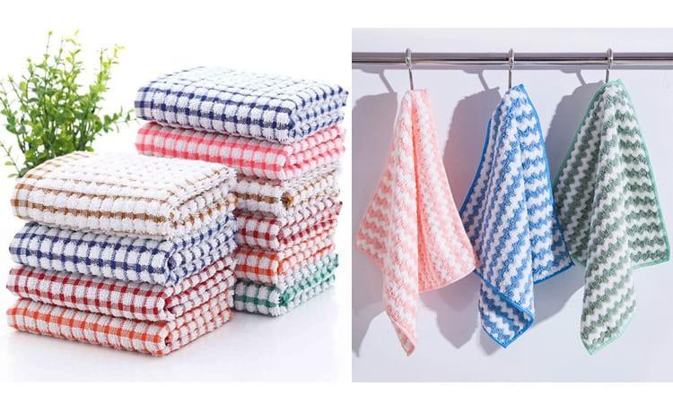 Кухонные и махровые полотенца