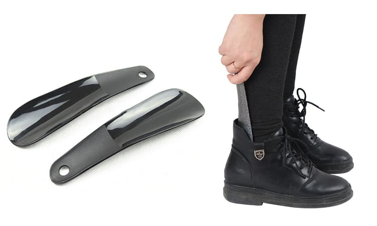 Удобная ложечка для обуви