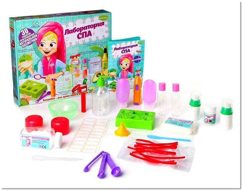 Наборы для опытов для девочек 10 лет