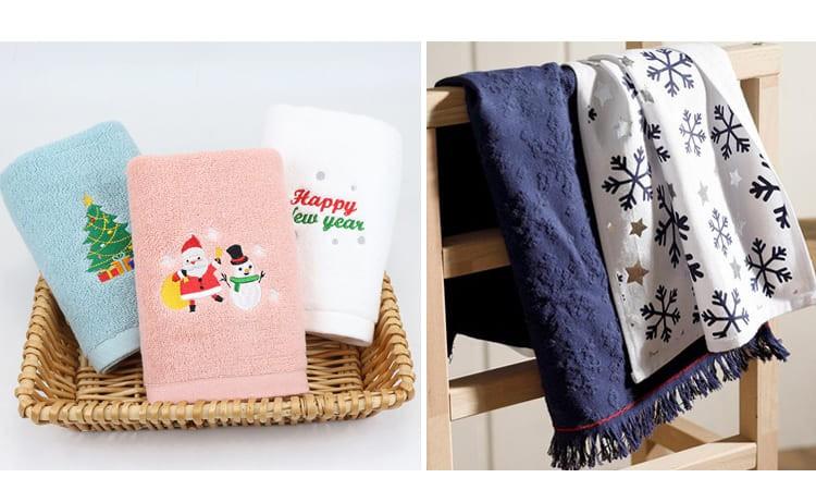 Новогодние полотенца для кухни