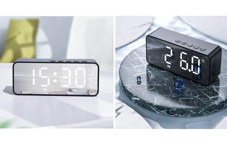Беспроводной Bluetooth-динамик и мини-будильник