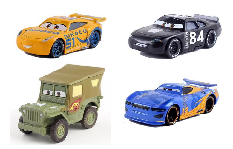 Маленькие игрушечные машинки