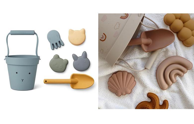 Пляжные силиконовые игрушки