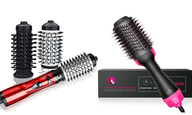 Фен-расческа для волос