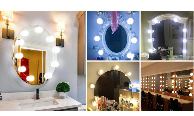 Лампы для зеркал